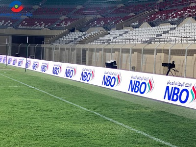 Fabulux Supported 750sqm FC series Stadium LED screen for Asia Football Confederation 2020