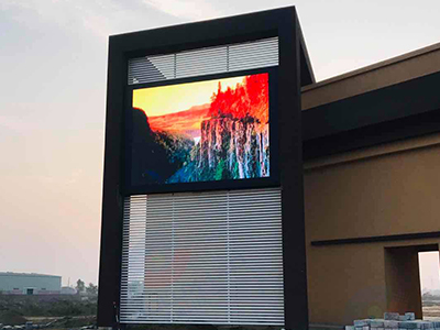 Fabulux Outdoor LED display Platinum Series P10 Lights up in Pakistan